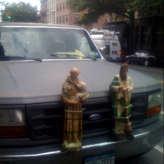 Saints alive don't hit my bumper