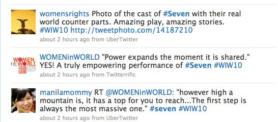 #SevenTwitter Search