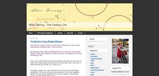 Alice Feiring - The Feiring Line
